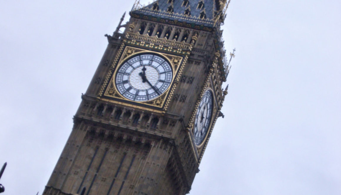 Clocktower of Westminster Palace, London